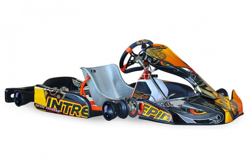 Intrepid Raptor 125cc Kart Chassis